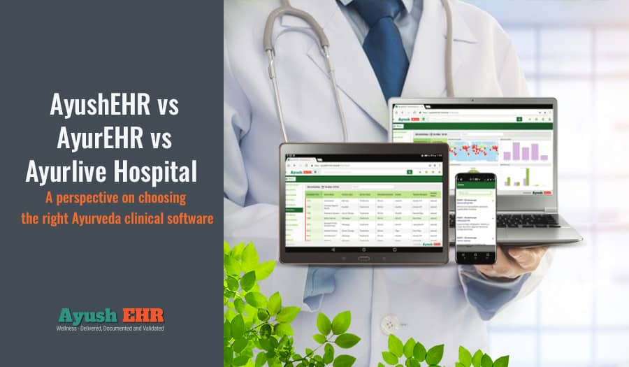 Comparison of the best EHR software for Ayurveda