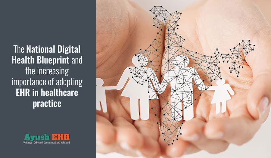 The National Digital Health Blueprint and the increasing importance of adopting EHR in healthcare practice